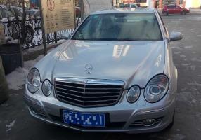 奔驰E230-2.5-A/MT时尚型(国Ⅳ)7档 手自一体